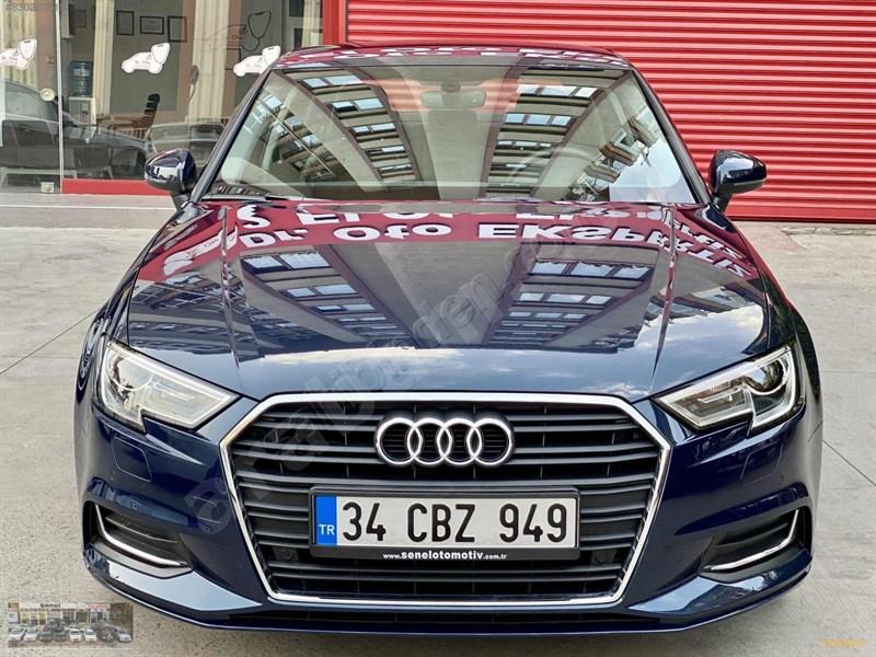 Galeriden Audi A3 Sedan 1.6 Tdi Design 2019 Model İstanbul 3.864 Km Lacivert