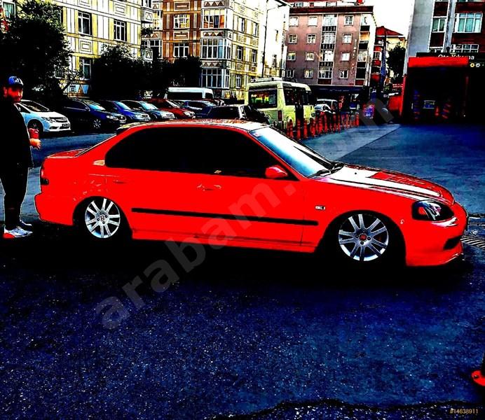 Sahibinden Honda Civic 1.6 Es 2001 Model İstanbul 195.000 Km -