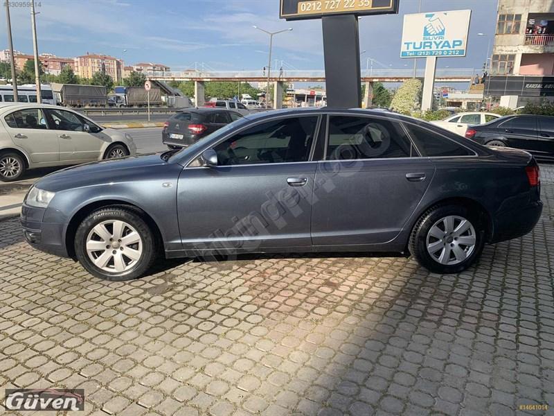 Galeriden Audi A6 Sedan 3.0 Tdi Quattro 2006 Model İstanbul 276.000 Km Gri