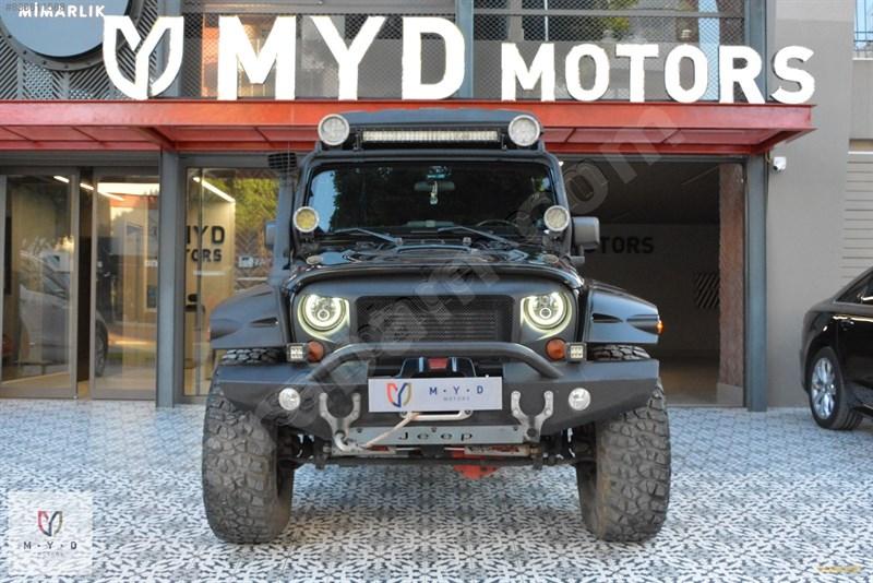 Galeriden Jeep Wrangler 2.8 Crd 2011 Model Antalya 206.000 Km Siyah