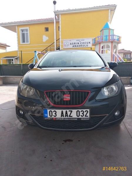 Sahibinden Seat Ibiza 1.4 Reference 2011 Model Ankara 124.000 Km Siyah