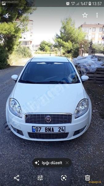 Sahibinden Fiat Linea 1.3 Multijet Active Plus 2012 Model Antalya 105.000 Km Beyaz