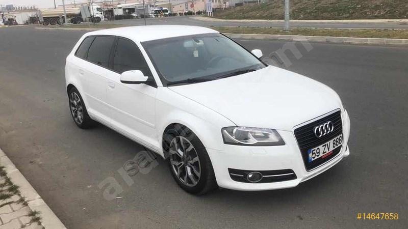 Sahibinden Audi A3 Sportback 1.6 Tdi Attraction 2012 Model Tekirdağ 180.000 Km Beyaz