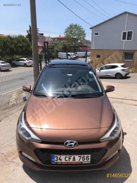 Sahibinden Hyundai I20 1.4 Mpi Style 2015 Model İstanbul 140.700 Km Kahverengi
