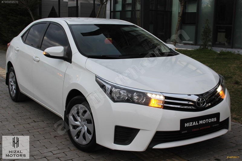 Galeriden Toyota Corolla 1.33 Life 2016 Model Sakarya 103.000 Km Beyaz