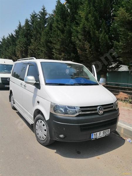 Sahibinden Volkswagen Transporter 2.0 Tdi Camlı Van 2014 Model İstanbul 119.000 Km Beyaz