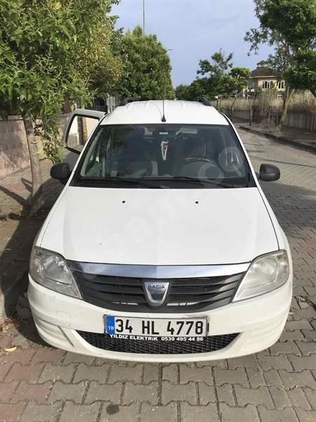 Sahibinden Dacia Logan 1.5 Dci Mcv Ambiance 2012 Model İstanbul 260.000 Km Beyaz
