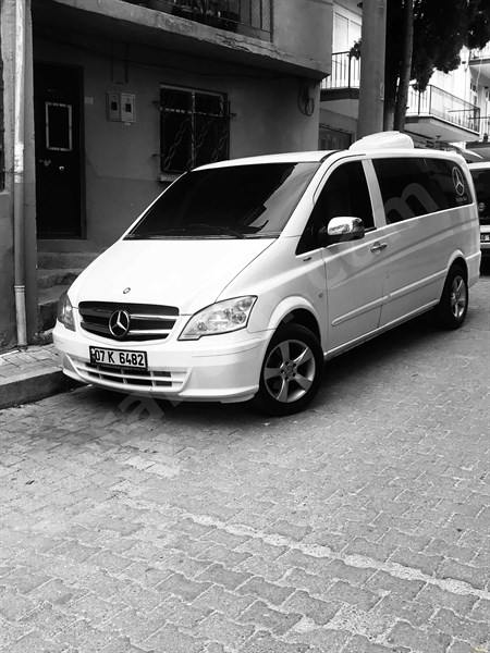 Galeriden Mercedes - Benz Vito 113 Cdi 2011 Model Uşak 392.000 Km Beyaz