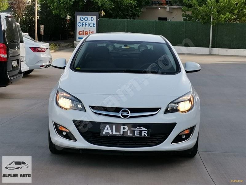 Galeriden Opel Astra 1.6 Edition Plus 2017 Model Diyarbakır 76.000 Km Beyaz
