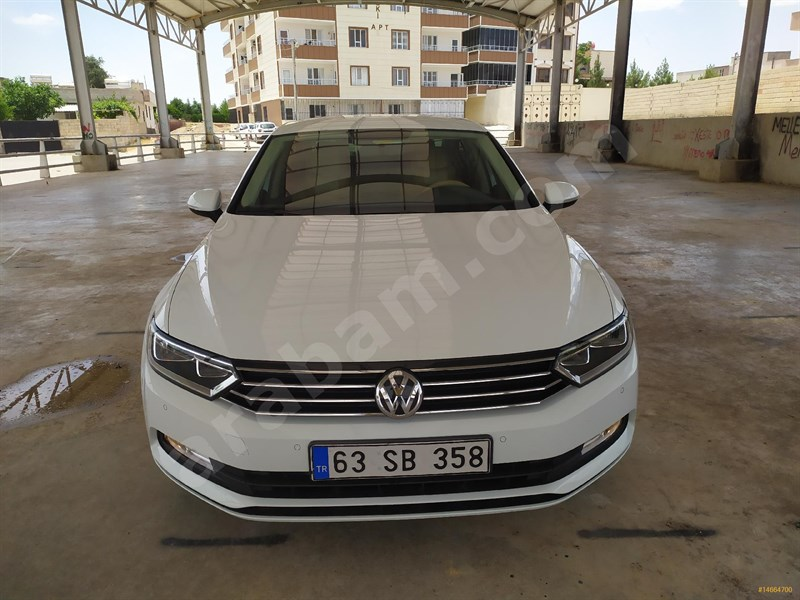 Sahibinden Volkswagen Passat 2016 Model şanlıurfa 39.500 Km Beyaz