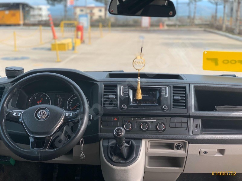 Sahibinden Volkswagen Transporter 2.0 Tdi Camlı Van 2015 Model Gaziantep 90.000 Km Siyah