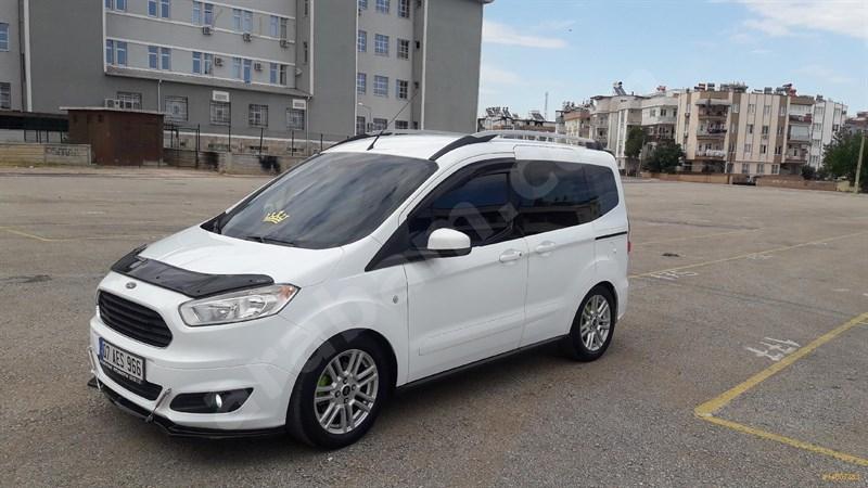 Sahibinden Ford Tourneo Courier 1.6 Tdci Journey Titanium 2015 Model Antalya 135.000 Km Beyaz