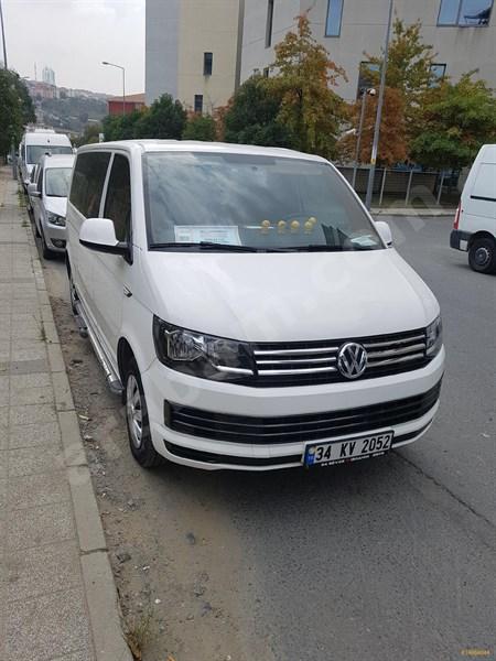 Sahibinden Volkswagen Transporter 2.0 Tdi City Van Comfortline 2018 Model İstanbul 92.000 Km Beyaz