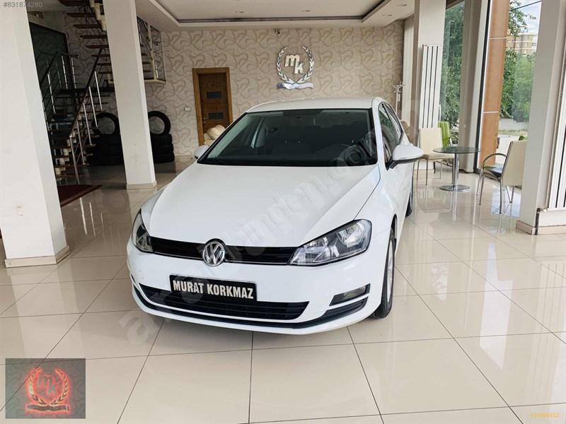 Galeriden Volkswagen Golf 1.2 Tsi Midline Plus 2014 Model Kayseri 103.000 Km Beyaz