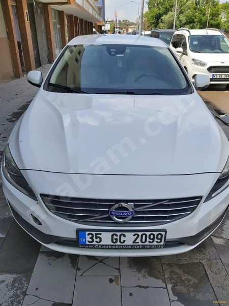 Galeriden Volvo S60 1.6 D Premium 2014 Model Muş 150.000 Km Beyaz