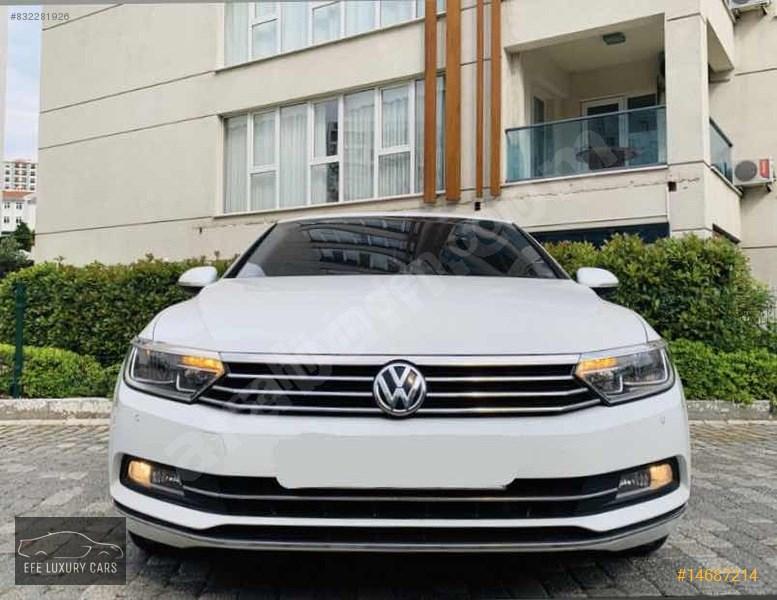 Galeriden Volkswagen Passat 1.6 Tdi Bluemotion Comfortline 2016 Model İstanbul 90.000 Km Beyaz