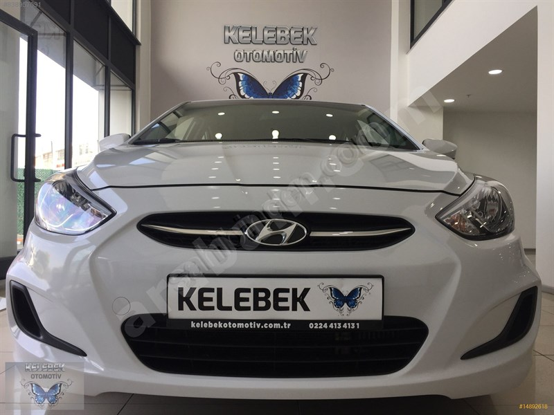 Galeriden Hyundai Accent Blue 1.6 Crdi Mode Plus 2017 Model Bursa 61.000 Km Beyaz