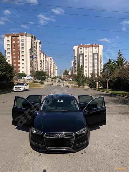 Sahibinden Audi A3 Sedan 1.6 Tdi Ambiente 2015 Model İstanbul 105.000 Km Siyah