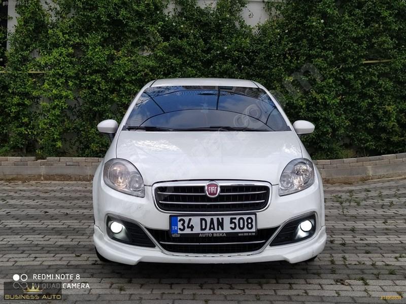 Galeriden Fiat Linea 1.3 Multijet Pop 2015 Model İstanbul 147.000 Km Beyaz