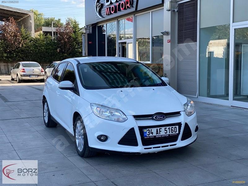 Galeriden Ford Focus 1.6 Tdci Style 2013 Model İstanbul 111.000 Km Beyaz