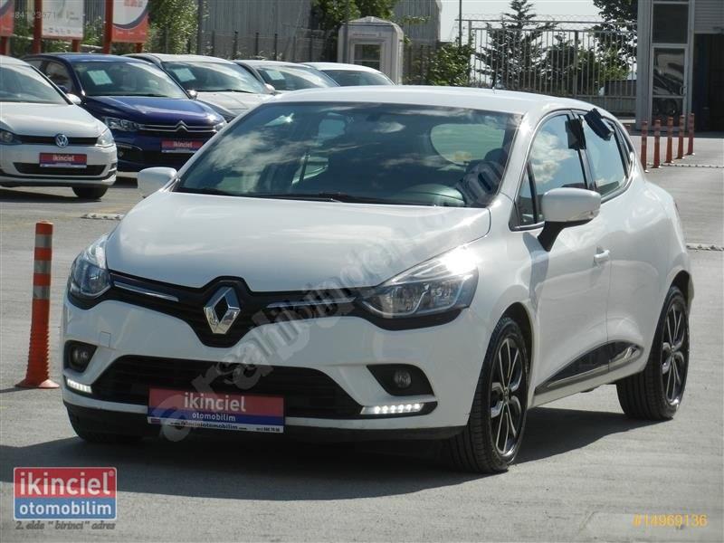 Galeriden Renault Clio 1.5 Dci Touch 2017 Model İstanbul 114.819 Km Beyaz