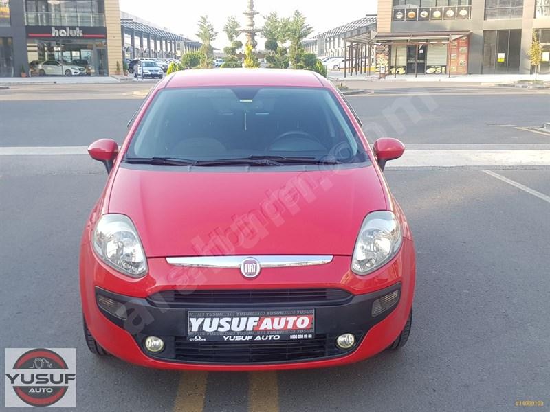 Galeriden Fiat Punto Evo 1.3 Multijet Dynamic 2011 Model Ankara 143.000 Km Kırmızı