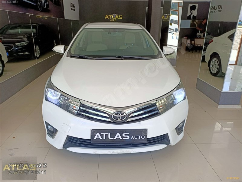 Galeriden Toyota Corolla 1.4 D-4d Advance 2014 Model Aydın 130.000 Km Beyaz