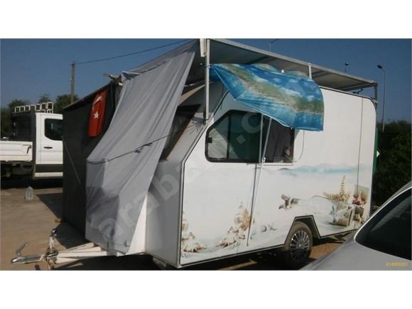 Sahibinden özel yapım Antalya temiz çekme karavan