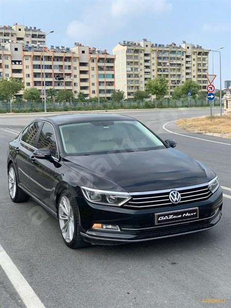 Galeriden Volkswagen Passat 1.6 Tdi Bluemotion Comfortline 2015 Model Adana 185.000 Km Siyah