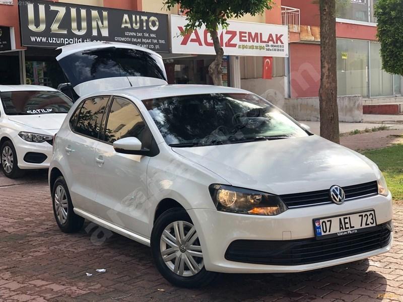 Galeriden Volkswagen Polo 1.4 Tdi Trendline 2015 Model Antalya 150.000 Km Beyaz