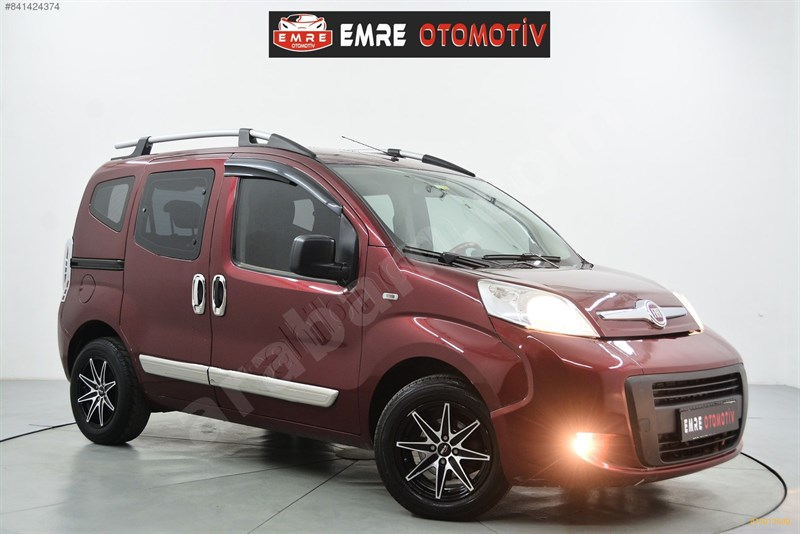Galeriden Fiat Fiorino Combi 1.3 Multijet Pop 2014 Model İstanbul 174.000 Km Kırmızı