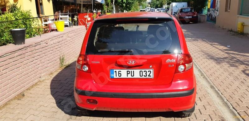 Galeriden Hyundai Getz 1.3 Gls 2005 Model Diyarbakır 270.000 Km Kırmızı