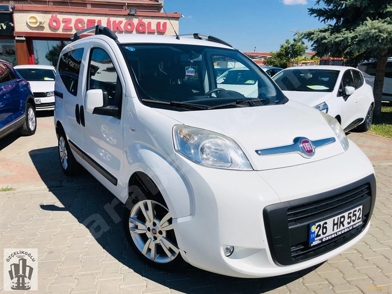 Galeriden Fiat Fiorino Combi 1.3 Multijet Emotion 2014 Model Eskişehir 52.000 Km Beyaz