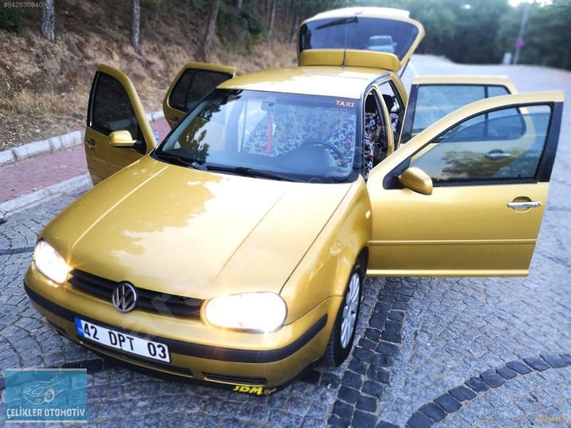 Galeriden Volkswagen Golf 1.6 Comfortline 1999 Model Konya 320.000 Km Sarı