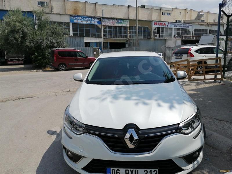 Sahibinden Renault Megane 1.6 Joy 2017 Model Ankara 36.999 Km Beyaz