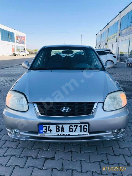 Sahibinden Hyundai Accent 1.6 Admire 2005 Model Mardin 300.000 Km Gri
