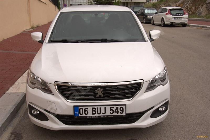Sahibinden Peugeot 301 1.6 Bluehdi Allure 2018 Model Ankara 39.000 Km Beyaz