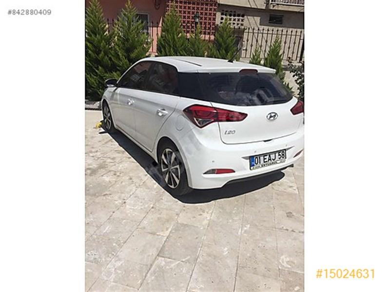 Sahibinden Hyundai I20 1.2 Mpi Style 2015 Model Adana 43.500 Km Beyaz