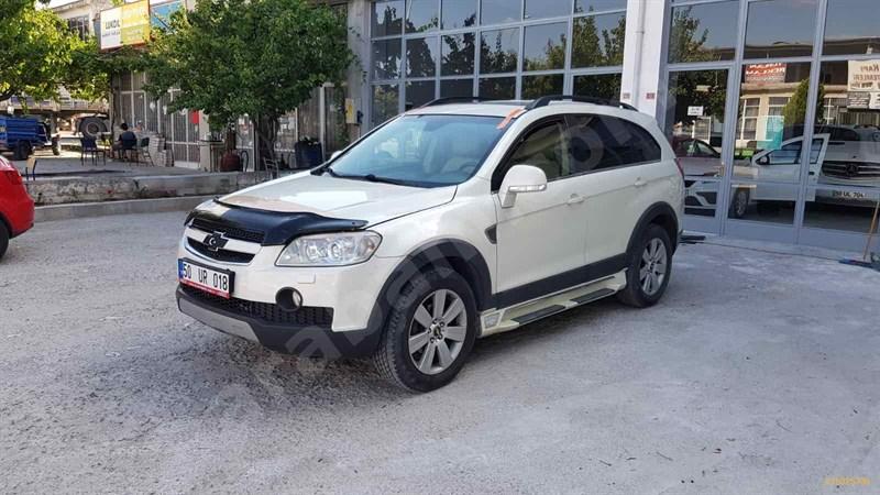 Galeriden Chevrolet Captiva 2.0 D High 2011 Model Nevşehir 188.021 Km Beyaz