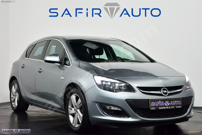 Galeriden Opel Astra 1.3 Cdti Sport 2013 Model İstanbul 127.000 Km Gri
