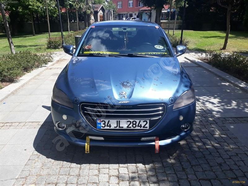 Sahibinden Peugeot 301 1.6 Hdi Allure 2013 Model İstanbul 183.000 Km Mavi