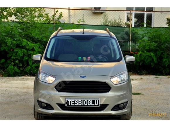 Galeriden Ford Tourneo Courier 1 6 Tdci Titanium Plus 2014 Model Antalya 130 000 Km Bej 15036277 Arabam Com