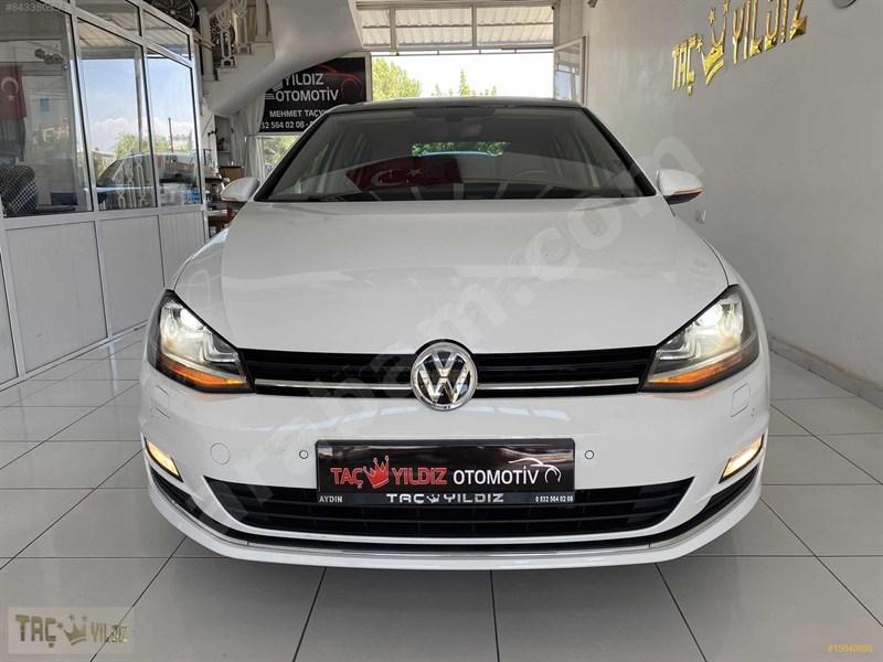Galeriden Volkswagen Golf 1.6 Tdi Bluemotion Highline 2016 Model Aydın 40.000 Km Beyaz