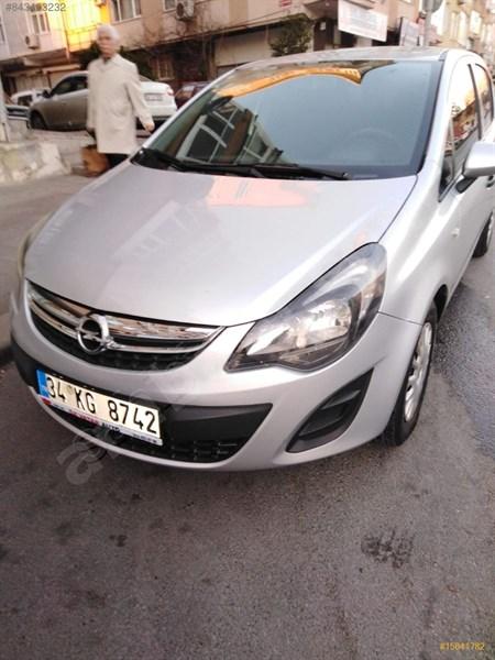 Sahibinden Opel Corsa 1.3 Cdti Enjoy 2014 Model İstanbul 184.000 Km Gri