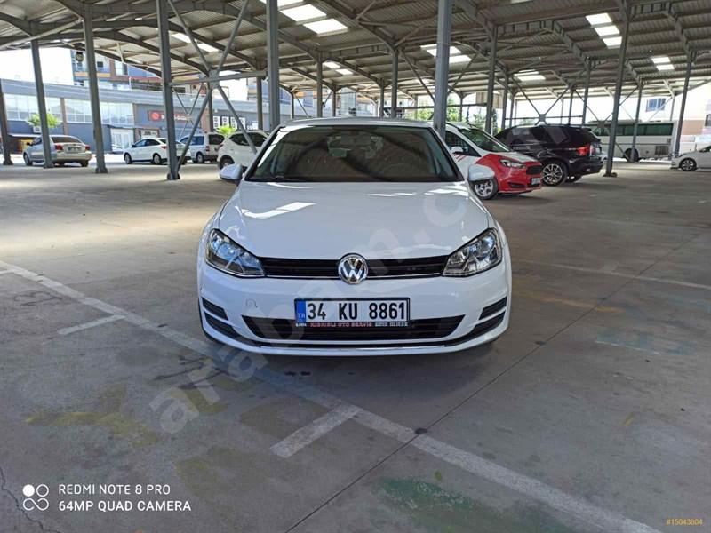 Galeriden Volkswagen Golf 1.6 Tdi Bluemotion Midline Plus 2014 Model Osmaniye 280.000 Km Beyaz