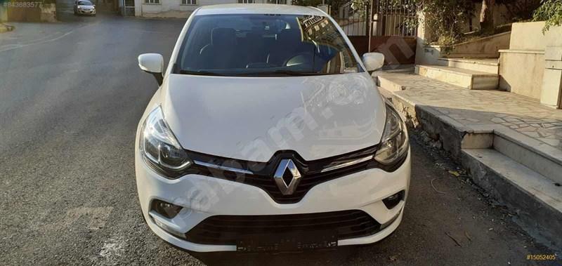 Sahibinden Renault Clio 1.5 Dci Touch 2017 Model İstanbul 108.500 Km Beyaz