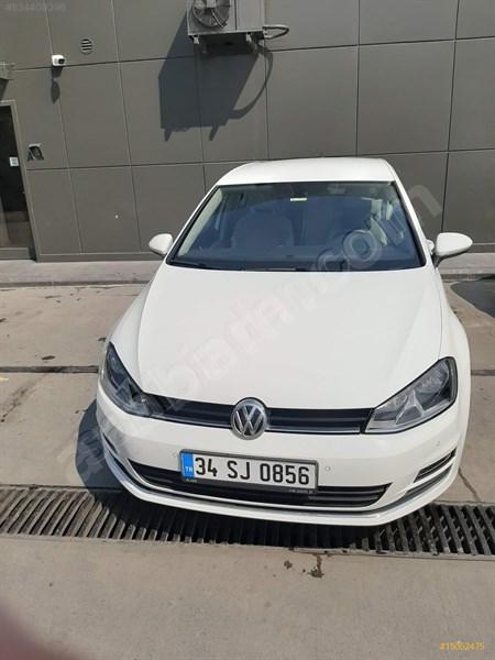 Sahibinden Volkswagen Golf 1.2 Tsi Comfortline 2016 Model İstanbul 62.507 Km Beyaz