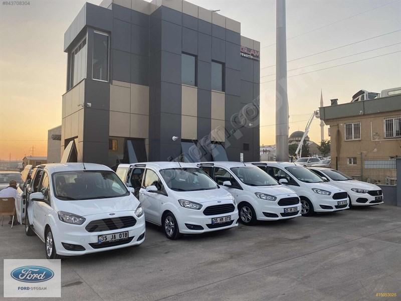 Galeriden Ford Tourneo Courier 1.6 Tdci Deluxe 2017 Model Gaziantep 20.000 Km Beyaz