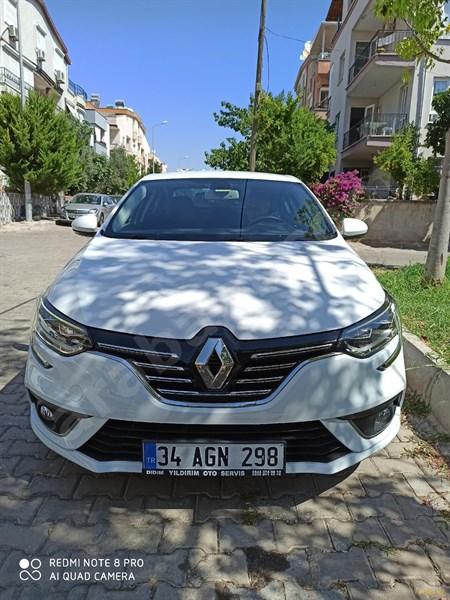 Sahibinden Renault Megane 1.5 Dci Icon 2017 Model Aydın 11.000 Km Beyaz