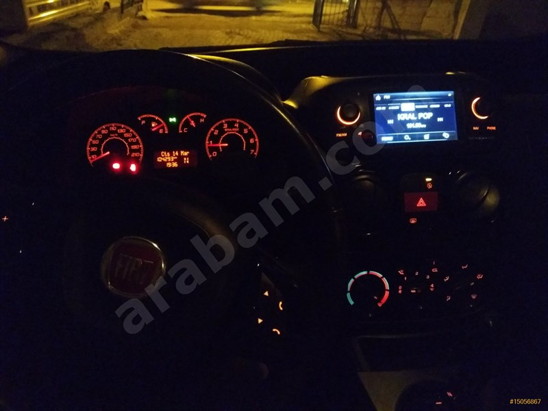 Sahibinden Fiat Fiorino Combi 1.3 Multijet Premio 2016 Model Ankara 105.000 Km Beyaz